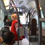 Tram Man findet erstaunlich moderne Trams in Lyon. Und wenn man erst mal den Durchblick hat, findet man sich sogar zurecht. Auf der Fahrt zum Gare Saint-Paul.