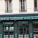 bürgerlich: typisch Bistro / Restaurant Rue Octavio Mey.