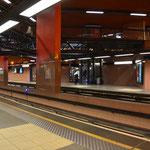 Saubere Bahnsteige wie man sie selten in der Welt findet Station Perrache