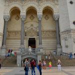 Was in Paris Sacre Ceur, ... ... das ist in Lyon Saint Paul: hässlich, aber überragend. La Basilique Notre Dame de Fourviere