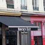 künstlich ... schüttel Dich beim Essen, oder? Rue Octavio Mey.