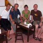 Wir mit Francesco und Jorge