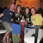 Wir mit Franziska und André die auch auf Weltreise waren