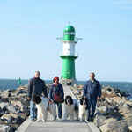 Gruppenfoto in Warnemünde