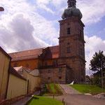 die Wallfahrtskirche Maria Hilf in Amberg