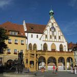 Das Gotisches Rathaus in Amberg