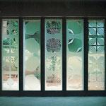 Chapelle NAK, Oberwil 1978, Vitraux 40 m2