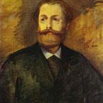 Edouard Manet - Ritratto di Antonin Proust - 1877 - Olio su tela