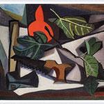 Renato Guttuso - Natura morta con sega e accetta, 1948