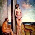 Carlo Carrà - Le figlie di Lot (1940)
