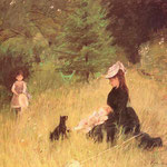 On the Lawn, 1874