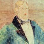 Oscar Wilde - 1895 - Acquerello
