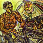 Ritratto di V. Nubiola - 1917 - Olio su tela