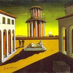 Piazza d'Italia - 1913 - Olio su tela