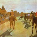 Cavalli da corsa - 1866/68 - Olio su tela