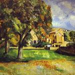 Alberi nel Parco. La Jas de Bouffan - 1885-1887 - Olio su tela