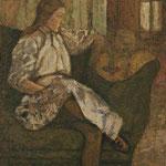 Portrait of Yvonne Duchamp