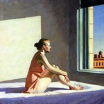 Edward Hopper - Sole al mattino