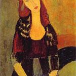 Ritratto di Jeanne Hébuterne - 1918 - Olio su tela
