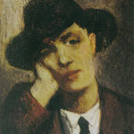 Modigliani by Jeanne - 1919
