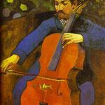 Il violoncellista - 1894 - Olio su tela