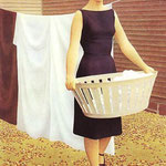 Woman with a Wash Basket