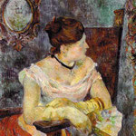 Madame Mette Gauguin in Evening Dress, 1884