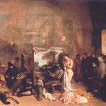 Studio dell'artista - 1855