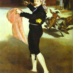 Edouard Manet - La signorina Meurent Victorine nel costume di un Torero - 1862 - Olio su tela