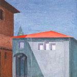 S. Maria del Tiglio (Gravedona), 1939-1940, olio su tela, cm 27x 19.