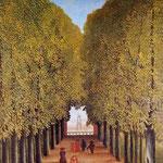 Viale nel parco di Saintclaude (1908)
