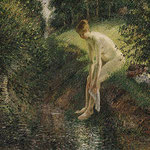 Bather in the Woods, 1895