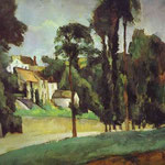 Strada a Pontoise - 1875-1877 - Olio su tela