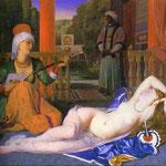 Odalisca con schiava - 1842