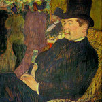 Portrait of Monsieur Delaporte at the Jardin de Paris, 1893