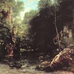 Ruscello ombroso - 1865