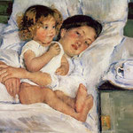 Breakfast in Bed, 1897