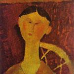 Ritratto di Beatrice Hastings - 1915 - Olio su tela