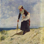 Madchen am Strand
