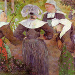 The Four Breton Girls, 1886