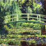 Claude Monet - Le ninfee bianche - 1899 - Olio su tela