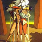 Ettore e Andromaca - 1917 - Olio su tela