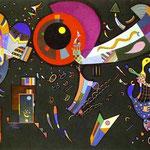 Intorno al Cerchio - 1940 - Olio e smalto su tela