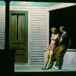 Edward Hopper - Sera d'estate