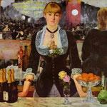 Edouard Manet - Il bar delle Folies-Bergère - 1882 - Olio su tela