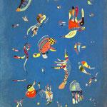 Cielo Blu - 1940 - Olio su tela