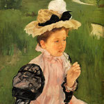 Portrait Of A Young Girl, 1900