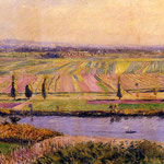 The Gennevilliers Plain, Seen from the Slopes of Argenteuil, 1888