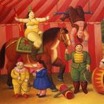 Fernando Botero - Gente del circo (2007)