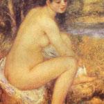 Ragazze sedute - 1883 - Olio su tela